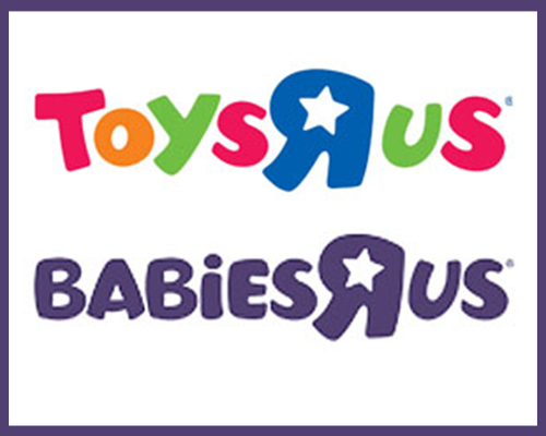 """Toys """"R"""" Us and Babies """"R"""" Us"""